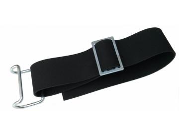 Gepäckträgerriemen kompl. - 1 Haken + 1 Klemmschlaufe - neue Ausführung