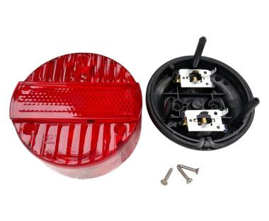 Bremsschlussleuchte, komplett - BSKL 8522.21 - Ø120mm - 3 Schrauben - mit E-Prüfzeichen