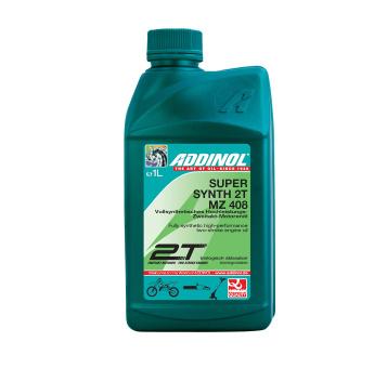 ADDINOL MZ408 SUPER SYNTH, 2-Takt-Motorenöl, vollsynthetisch, 1 L Dose, Hochleistungsöl, selbstmischend