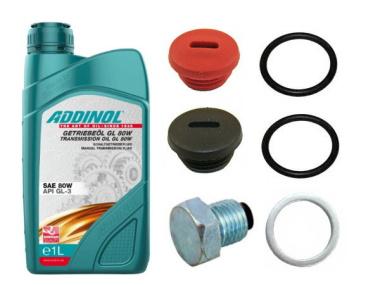 """Set Ölwechsel """"Mittel"""" mit Addinol Getriebeöl M500 - M700"""
