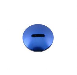 Verschlußschraube - Alu blau (Kupplungseinstellung) - ohne O-Ring (Nr. M10223)