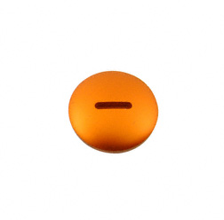 Verschlußschraube - Alu orange (Kupplungseinstellung) - ohne O-Ring (Nr. M10223)
