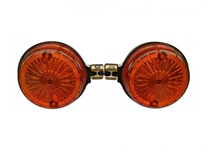 SET Blinker 8580.23/1, hintere - rund - orange - mit E-Prüfzeichen