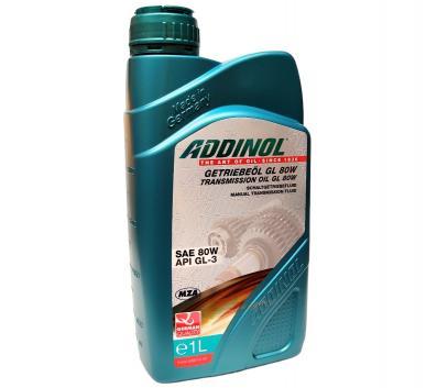 ADDINOL GL80W, Getriebeöl GL-3, mineralisch, 1 L