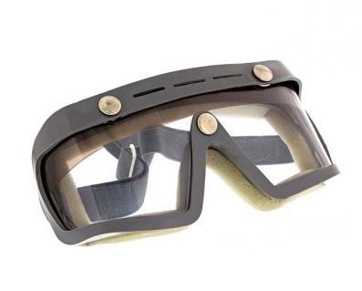 """Motorradschutzbrille - Original DDR-Sportschutzbrille - MARKE: """"SPORTURA"""" - mit Sonnenblende"""