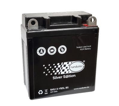 AGM-Batterie - (Vlies - wartungsfrei) - 12V 3Ah - Schwalbe
