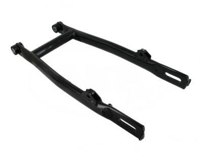 Schwinge vollständig mit Buchsen - grundiert und schwarz pulverbeschichtet - S51