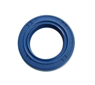 Wellendichtring 22x35x07 Doppellippe NBR (blau)