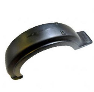 Schutzblech hinten - Plastik - schwarz - SR50, SR80