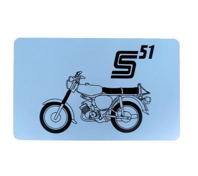 """Frühstücksbrettchen - Motiv: """"S51"""""""