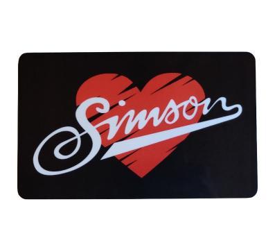 """Frühstücksbrettchen - Motiv: """"I love SIMSON"""""""