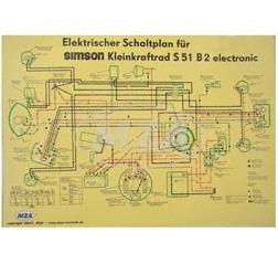 simso shop schaltplan 69x49cm s51b2 electronic. Black Bedroom Furniture Sets. Home Design Ideas